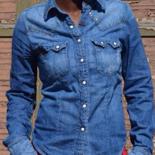 Top Do it yourself : customiser sa chemise en jean - Deltreylicious HW53
