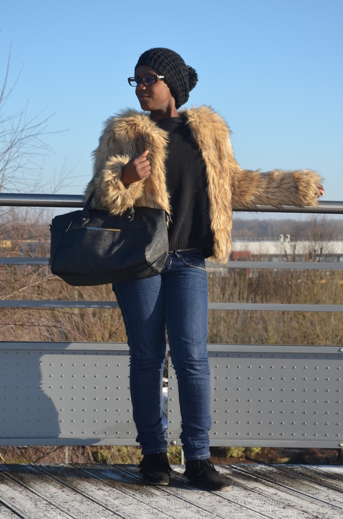 Comment porter le manteau en fourrure