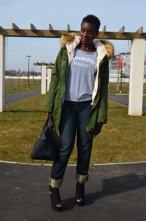 Comment porter la parka d'hiver