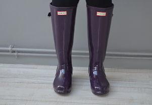 comment porter les bottes de pluie