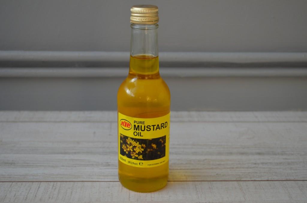huile de moutarde