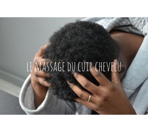 Massage du cuir chevelu
