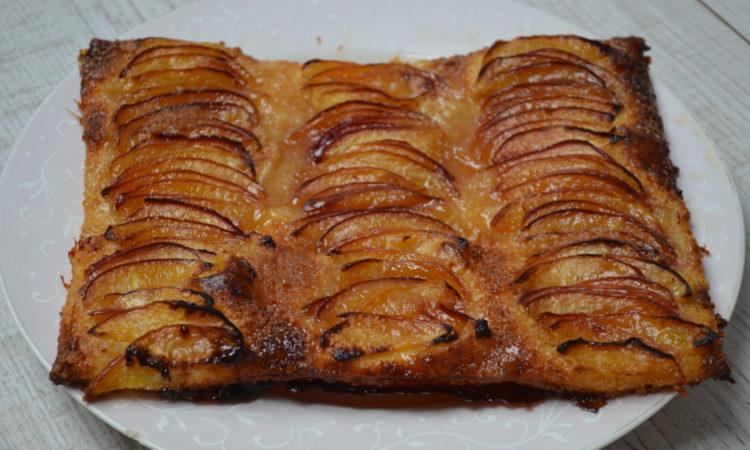 Recette de la tarte fine aux nectarines